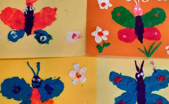 Рисуем красками и даже пластилином (весенние каникулы 2021)